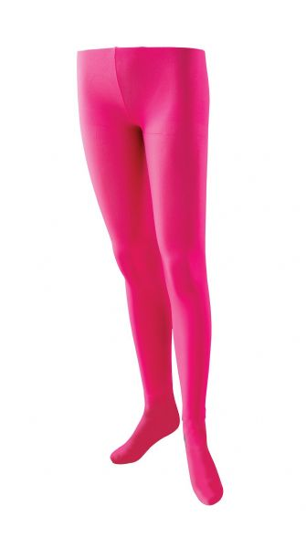 Ladies Tights Pink Sexy Adult Role Play Fancy Dress